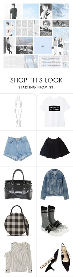 """""""pour toujours"""" by luhansolo ❤ liked on Polyvore featuring MANGO, American Apparel, D&G, Balenciaga, Mansur Gavriel, Miu Miu, Monse, tumblr, kpop and EXO"""