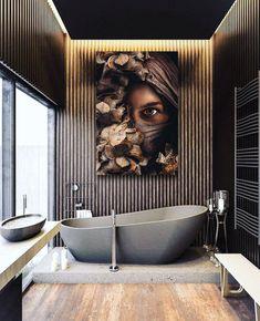 Vanaf €19.95 Poster van een vrouw met gezichtsbedekking in de natuur omgeven door bloemen en insecten. Deze poster is bijzonder geschikt voor in een Scandinavisch, modern, minimalistisch, basic , industrieel, klassiek of landelijk interieur. #posterjunkie #poster #posters #muurdecoratie #wallart #walldecoration #interieur #wooninspiratie #muurkunst Moroccan Tile Bathroom, Pink Bathroom Decor, Open Bathroom, Bathroom Styling, Bathrooms, Luxury Interior Design, Interior Styling, Interior Architecture, Dream Home Design