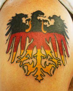 deutsches 500 309 germany eagle german logo tattoos pinterest evolution. Black Bedroom Furniture Sets. Home Design Ideas