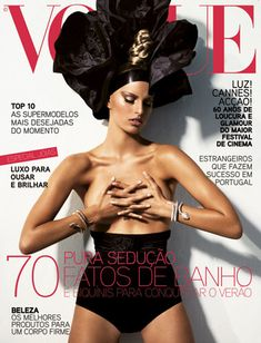 Karolina Kurkova by Alexi Lubomirski Vogue Portugal June 2007