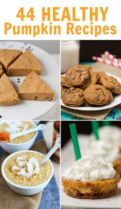 The Ultimate Healthy Pumpkin Recipe Round-Up