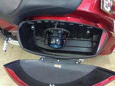 So do you think that you must have a boat to take advantage of our JL Audio marine sale? Nope, of course not! JL Audio marine components can be used in many different applications, like this Victory motorcycle, for example, that recently received a pair of JL Audio 8.8-inch marine coaxial speakers, in the saddle bags. Our West Carrollton/Moraine team also installed a pair of Focal Flax coaxial speakers and an Arc Audio MOTO600.4 amplifier, in the fairing, so this bike really rocks!