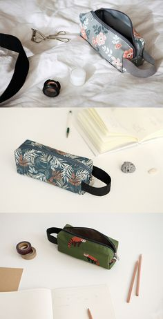 Organize your stationery in cute, nature-inspired fashion with the Dailylike Canvas Strap Pouch!