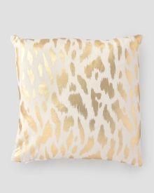 "Zara Gold Decorative Pillow 19"", Main View"