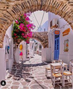 Naoussa of Paros Island, Greece Dream Vacations, Vacation Trips, Beach Vacations, Naoussa Paros, Best Island Vacation, Where Is Bora Bora, Paros Greece, Paros Island, Viajes