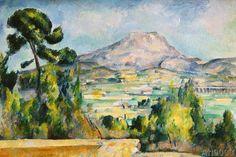 Paul Cézanne - La Montagne Sainte-Victoire