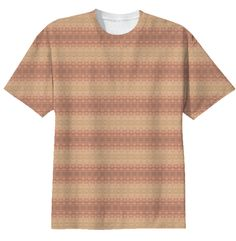 Muted Pastel T-Shirt. $38. 100% cotton /// intricate, stripes, multicolor, pattern, bohemian