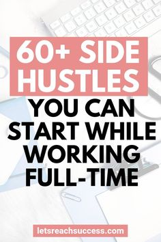 Looking to earn some income on the side? Check out this list of 67 amazing side Cash From Home, Earn Money From Home, Work From Home Jobs, Earn Money Online, Way To Make Money, How To Make, Making Extra Cash, Extra Money, Hustle
