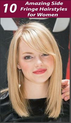 Looking for some Sexy Side Fringe Hairstyles? Today I have something for you! Discover 10 Sexy Side Fringe Hairstyles For Long Hair. Find the best one.
