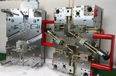 Injection molding die.
