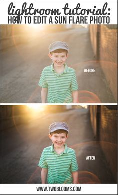 Editing A Sun Flare Photo In Lightroom | Two Blooms Lightroom Presets