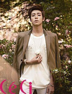 Lee Hyun Woo - Ceci Magazine September Issue '12