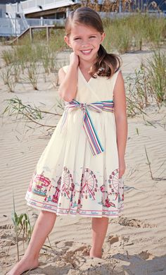 pier dress by little joule.