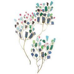 'Butterflies' Set of Three Sconces by Taher Chemirik