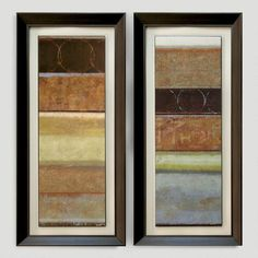 One of my favorite discoveries at WorldMarket.com: Norman Wyatt 'Culture Shock' Panels, Set of 2