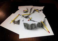 Những bức tranh 3D được vẽ bằng bút chì đẹp đến ngỡ ngàng (P.2)