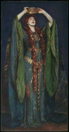 John Singer Sargent 1856 - Ellen Terry as Lady Macbeth @tatebritainlondon