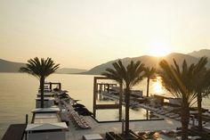 Purobeach Porto Montenegro opening June — Yacht Charter & Superyacht News Piscina Do Hotel, Beach Bars, Cheap Flights, Tropical Paradise, Cabana, Best Hotels, Life Is Good, Travel Destinations, Places
