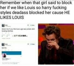 Harry has Lous' sass