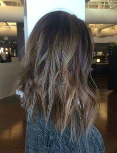 Ash Color Melt Hairstyles 2018 Bronde Lob
