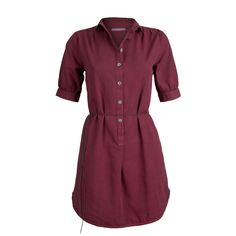 Armedangels Kleid Avril wine red #fashiontakesaction Shirt Dress, Shirts, Organic, Outfit, Dresses, Fashion, Vestidos, Shoe, Woman Clothing