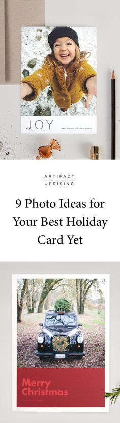 Consider this your permission to skip the snowy, perfectly posed, cable-knit holiday card: @artifactuprsng has 9 EASY photo ideas for your best holiday card yet. These no-stress photo ideas will have you on your way to a holiday send-out in no time.