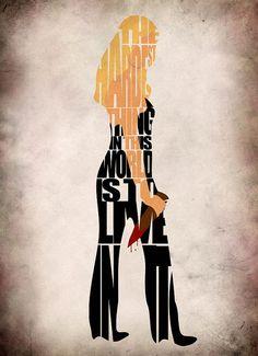 Buffy the Vampire Slayer Inspired Buffy Poster