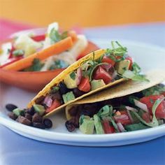 Black Bean Tacos - Cooking Light