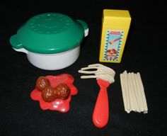 Vintage fisher price little tikes food play pretend pie - Cuisine bilingue fisher price ...