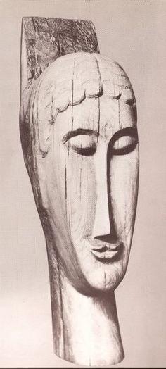 Amedeo Modigliani, Head, 1911                                                                                                                                                                                 More