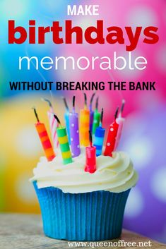 There are plenty of ways to make your family and friends feel special without overspending. Check out these practical and fun money saving birthday ideas.