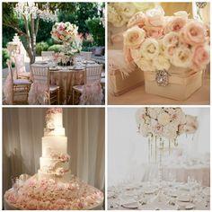 Four Seasons Bridal Blush Wedding - flowers