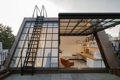My ideal home — stunning attic workspace with direct rooftop. My ideal home — stunning attic works Attic Renovation, Attic Remodel, Attic Rooms, Attic Bathroom, Attic Playroom, Attic Apartment, Garage Attic, Attic Closet, Apartment Living
