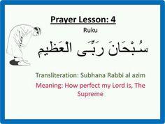 Explaining prayer positions easily