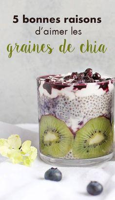 Découvrez 5 bonnes raisons de consommer des graines de Chia !: