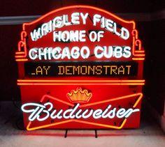Vintage Red Dog Beer Neon Bar Sign Circa 2002