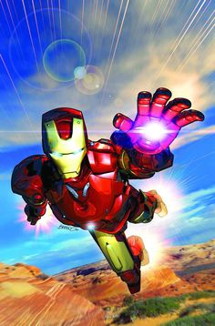 Iron Man - Brandon Peterson