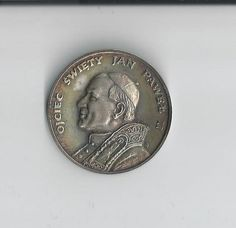 1979 Pope John Paul II Trip to Poland Silver by COLLECTORSCENTER