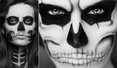 Resultado de imagen para dibujos de esqueletos diabolicos a lapiz