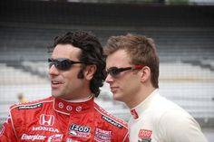 Wheldon and Franchitti