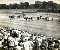 Opening Day at #Saratoga in 1950.