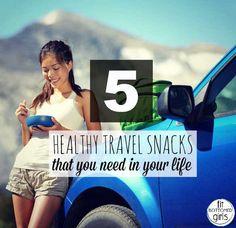 Healthy Travel Snack Ideas
