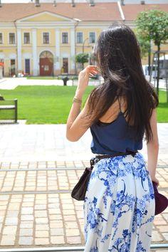 Summer blues - Madalina Trif