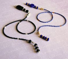 Simple Beaded Bookmarks