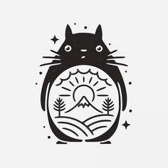 Stitch Fiddle is an online crochet, knitting and cross stitch pattern maker. Berg Tattoo, Studio Ghibli Tattoo, Ghibli Movies, My Neighbor Totoro, Hayao Miyazaki, Art Drawings, Anime Art, How To Draw Hands, Illustration Art