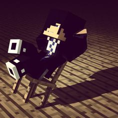 It's time to just sit back and relax a little. #Minecraft #minecraftonly