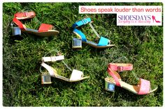 Metallic heels & sunny colours!! What will you be wearing this bank holiday?