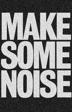 Make some noise #music #edm #edc #trance #dj #rave #plur