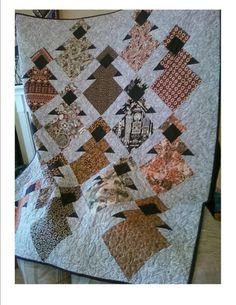 Magnificent African Queen Quilt Block Pattern 9