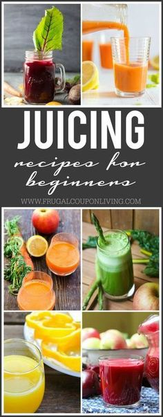 Juicing Recipes with inspiration from the popular documentary Fat Sick and Nearly Dead    Juice Recipes for the Beginner on Frugal Coupon Living. Healthy drink ideas using vegetables and fruits.